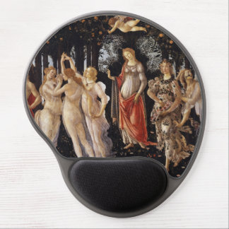 La Primavera (Spring) by Sandro Botticelli Gel Mousepads