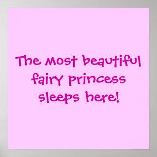 La princesse beautifulfairy dort ici ! poster