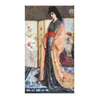 La princesse de la terre de la porcelaine impressions sur toile