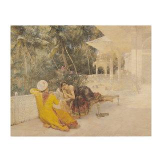 La princesse du Bengale, c.1889 Canevas En Bois