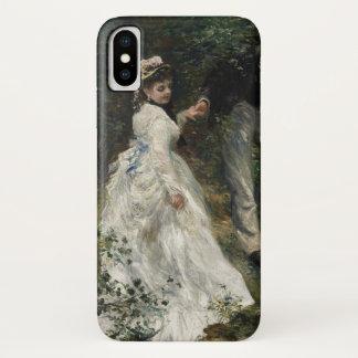 La Promenade Renoir Impressionist Painting Art iPhone X Case