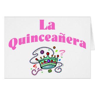 La Quinceanera Carte