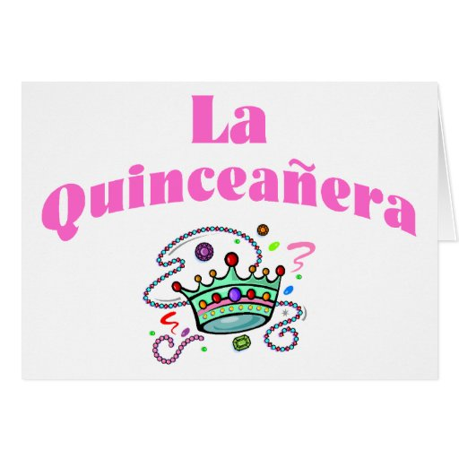 Quinceanera greeting cards la quinceanera greeting card zazzle m4hsunfo