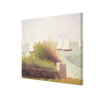 La Rade de Grandcamp Canvas Print