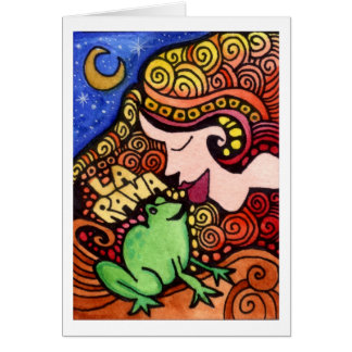 La Rana / The Frog Loteria Card