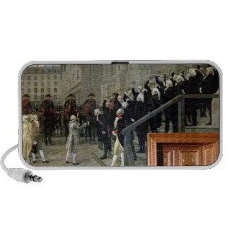 La réception de Louis XVI à l'hôtel de Ville b Haut-parleurs De Voyage