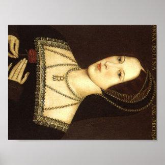 La Reine Anne Boleyn de la copie de l'Angleterre