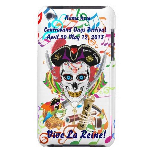 La Reine Lafitte de pirate tous les signes de vue  Étuis iPod Touch