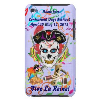 La Reine Lafitte de pirate tous les signes de vue Coque Barely There iPod