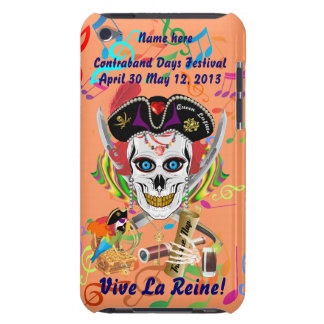 La Reine Lafitte de pirate tous les signes de vue Coque iPod Case-Mate