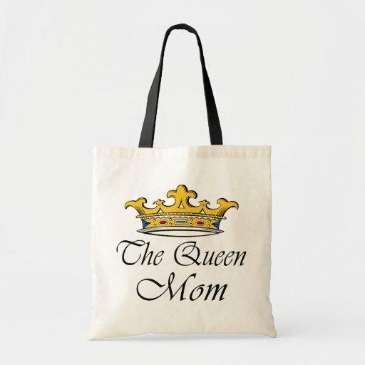 La reine, maman ! Une couronne avec l'attitude pou Sac Fourre-tout