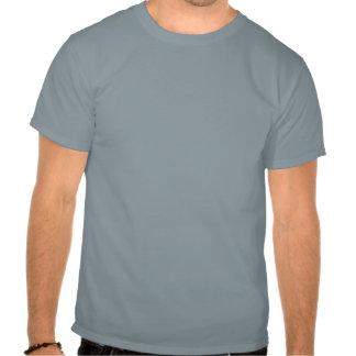 La rétro moitié du siècle de gratte-ciel et t shirt