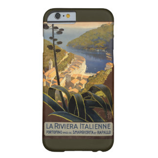 La Riviera Italienne Vintage Travel Poster Restore Barely There iPhone 6 Case