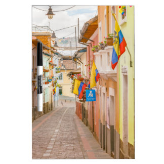 La Ronda Street Quito Ecuador Dry-Erase Whiteboards