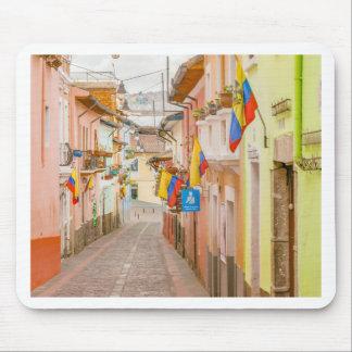 La Ronda Street Quito Ecuador Mouse Pad