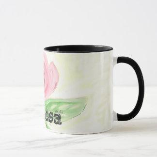 La Rosa  , the Rose artwork mug. Mug