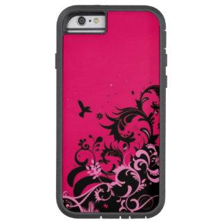 La rose indien ondule le cas de l'iPhone 6 Coque Tough Xtreme iPhone 6