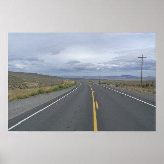 La route perdue affiches