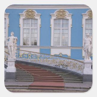 La Russie, St Petersburg, Pushkin, Catherine 5 Sticker Carré