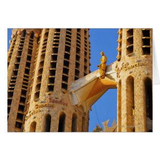 La Sagrada Familia Basilica Card