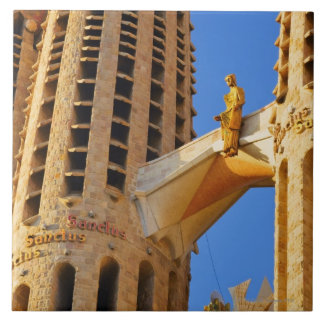 La Sagrada Familia Basilica Tile