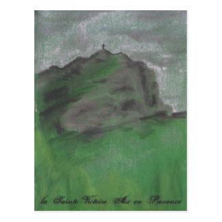 la Sainte Victoire in Winter Postcard