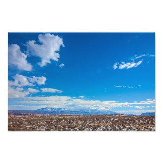 La Sal Mountains Photo Print