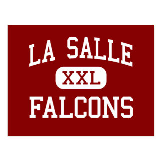 La Salle - Falcons - High - Milwaukie Oregon Postcard