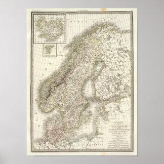 La Scandinavie - Scandinavia Poster
