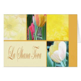 La Shana Tova Floral Card