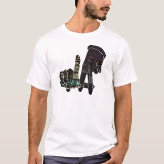LA skyline hands T-Shirt