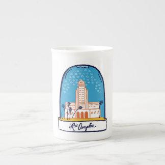 LA Snow Globe Tea Cup