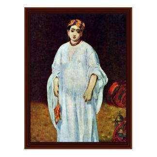 La Sultans By Manet Edouard Postcard