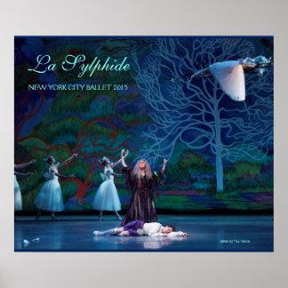 La Sylphide poster of Madge & James