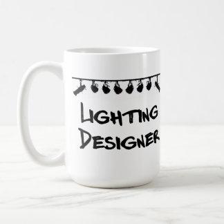 La tasse de concepteur d éclairage