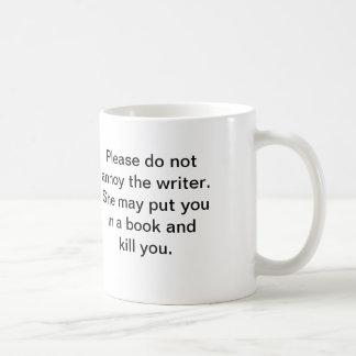 La tasse de l'auteur (elle)