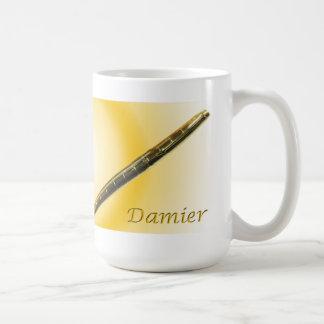 La tasse du collecteur de stylo-plume de Parker 75