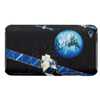 La terre orbitale satellite étui barely there iPod