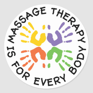 La thérapie de massage est pour des autocollants