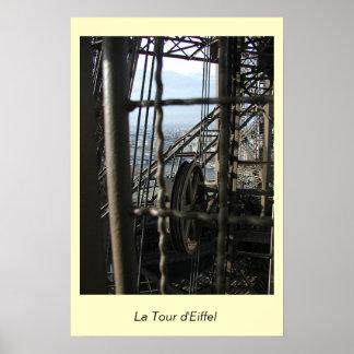 La Tour d'Eiffel Poster