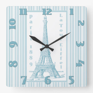 La Tour Eiffel 1889 Clock