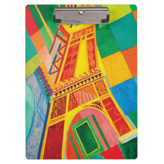 La Tour Eiffel by Robert Delaunay Clipboard