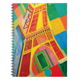 La Tour Eiffel by Robert Delaunay Notebook