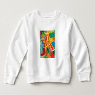 La Tour Eiffel by Robert Delaunay Sweatshirt