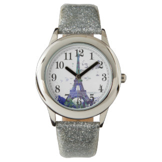 La tour Eiffel color splash Wrist Watches