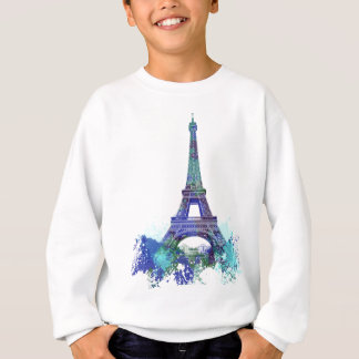 La tour Eiffel  colour splash Sweatshirt