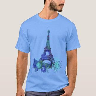 La tour Eiffel  colour splash T-Shirt
