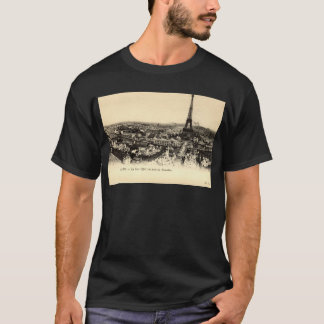 La Tour Eiffel, Paris France c1910 Vintage T-Shirt
