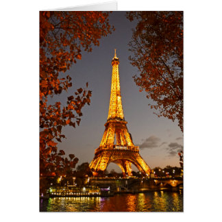 La Tour Eiffel - Paris, France - Greeting Card