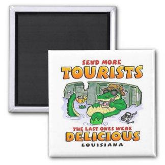 LA Tourist Gator Magnet